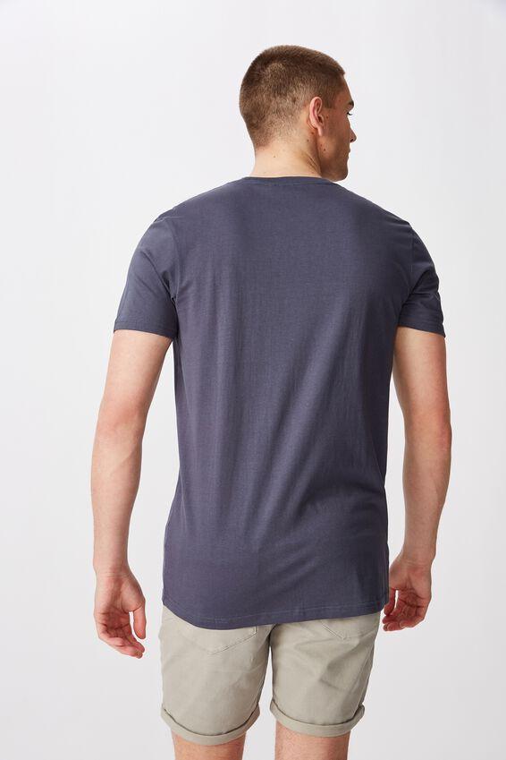 Slim T Shirt, CARBON BLUE