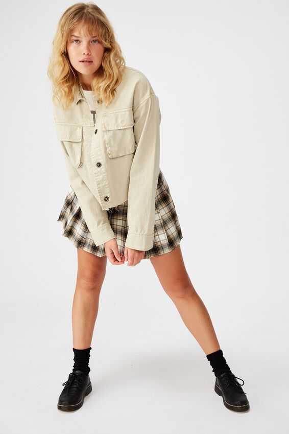 Utility Jacket, OYSTER GRAY