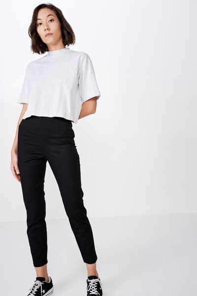 Stretch Skinny Pant, BLACK