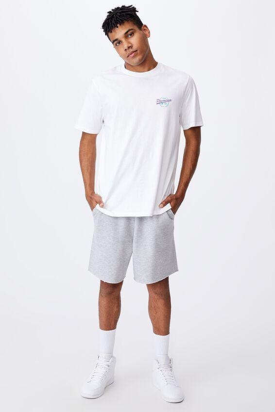 Regular Graphic T Shirt, WHITE/PREMIUM