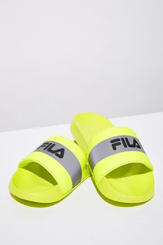 Fila Slides, NEON YELLOW