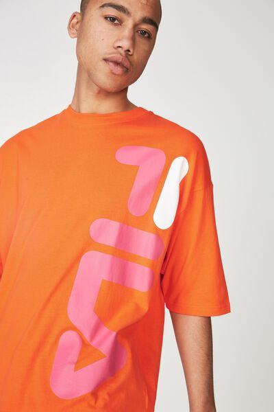 Fila Lcn Oversized Logo T Shirt, PUFFINS BILL
