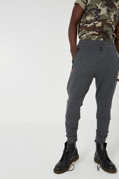 Pique Fleet Trackie, CHARCOAL