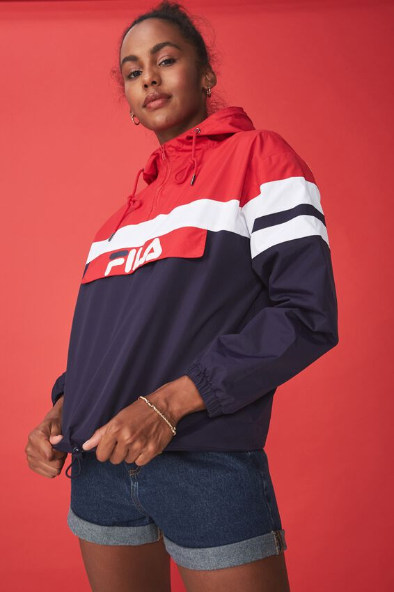 Fila Lcn Windbreaker, EVENING BLUE/LYCHEE/WHITE
