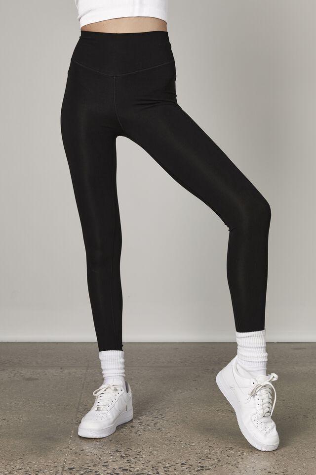 Super Luxe Legging, BLACK