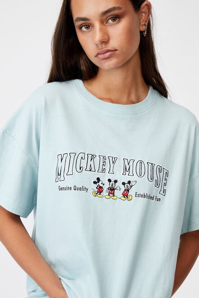 Lcn Disney Super Relaxed Graphic Tee, LCN DIS ETHER/MICKEY MOUSE