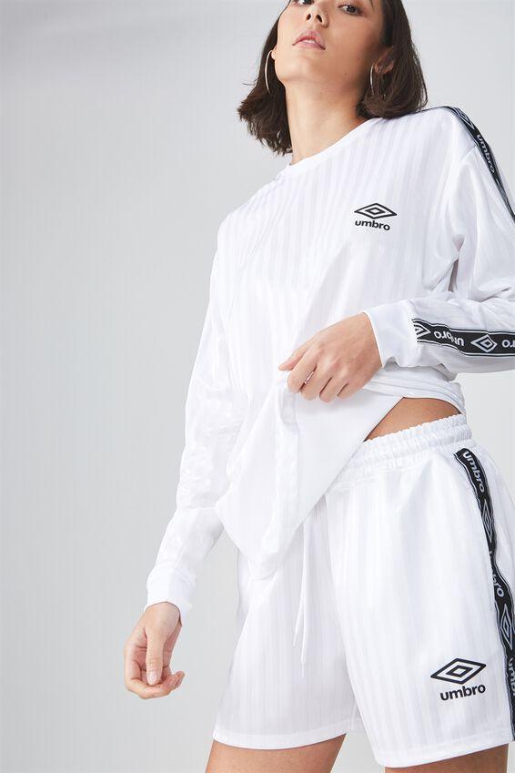Umbro Lcn Soccer Short, WHITE