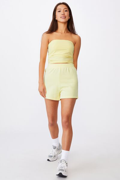 Longline Bandeau, TENDER YELLOW