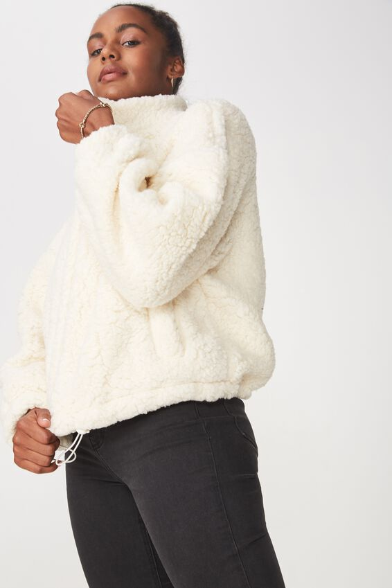 Teddy Bomber, WINTER WHITE