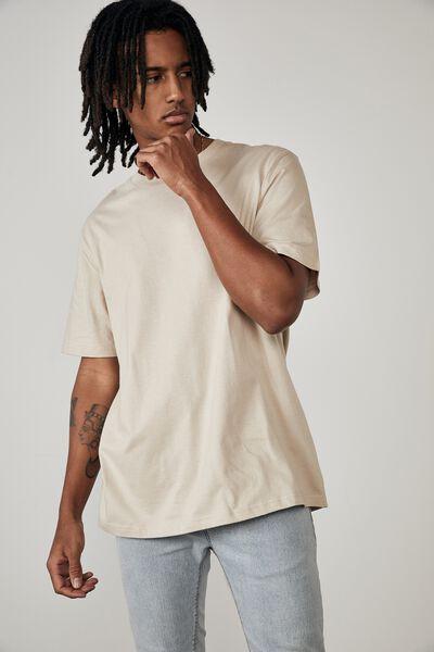 Regular T Shirt, BEIGE