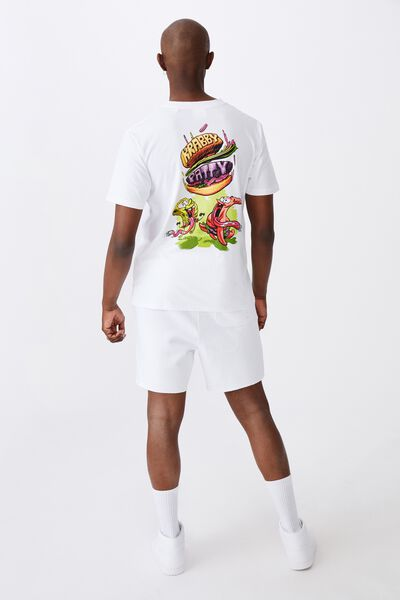 Regular License T Shirt, LCN NIC WHITE/KRABBY PATTY