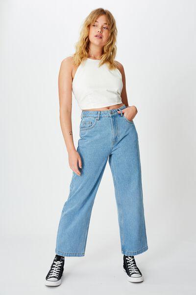 Wide Leg Jean, VINTAGE WASH