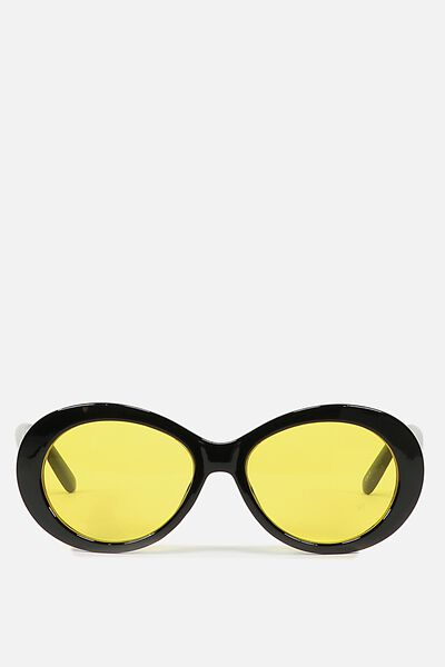 Zane Sunnie, BLACK W YELLOW