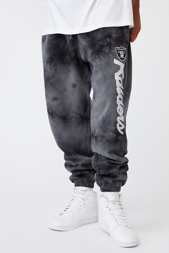 Relaxed Nfl Trackpant, LCN NFL GREY TIE DYE/RAIDERS