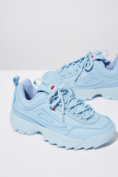 Girls Fila Disruptor 2 Ii, BLUE