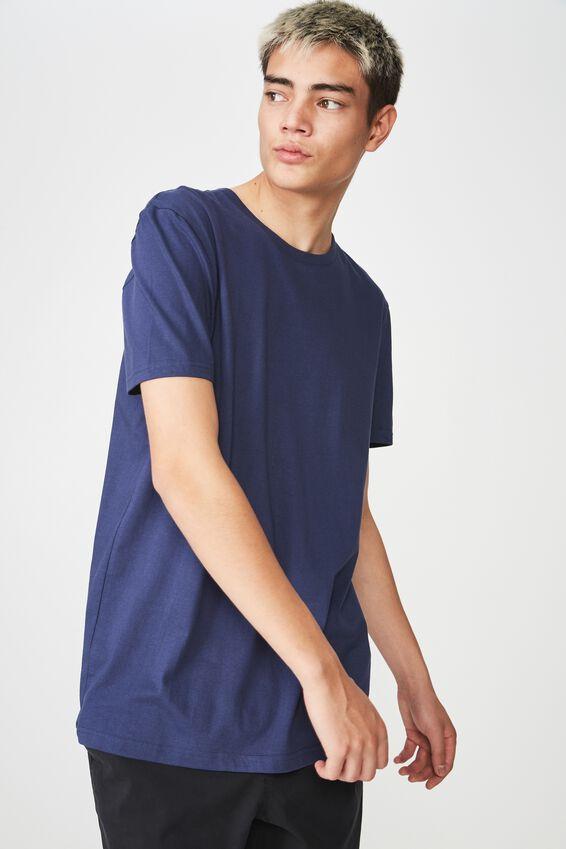 Slim T Shirt, WASHED NAVY