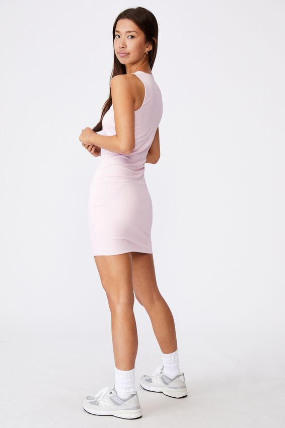 Cut Out Bodycon Dress, BALLERINA PINK