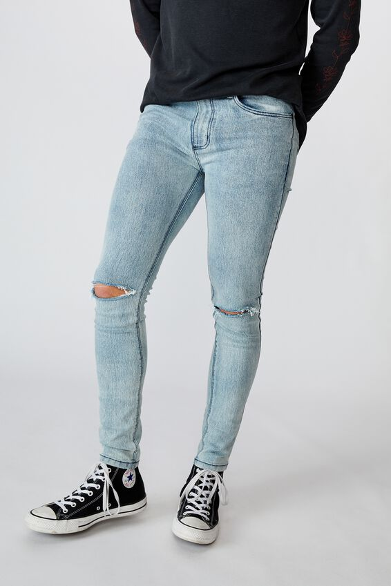 Super Skinny Jean, LIGHT INDIGO