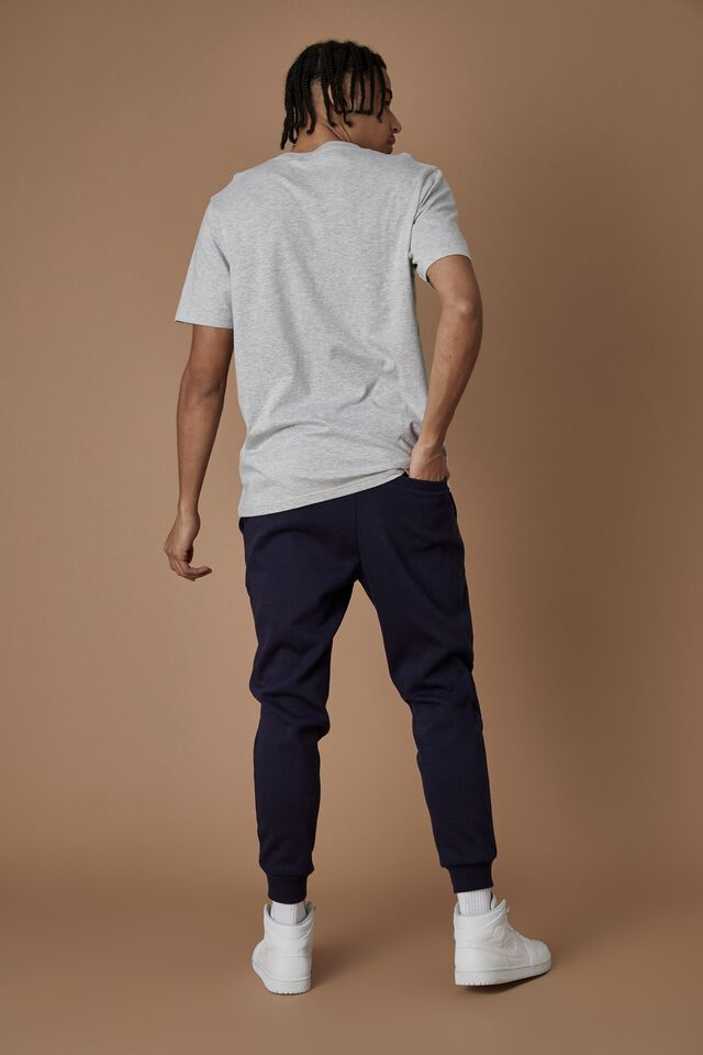 Regular T Shirt, LIGHT GREY MARLE