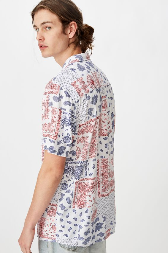 Resort Shirt, BANDANA