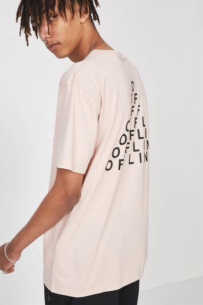Graphic T Shirt, ROSE SMOKE/OFFLINE TRIBE