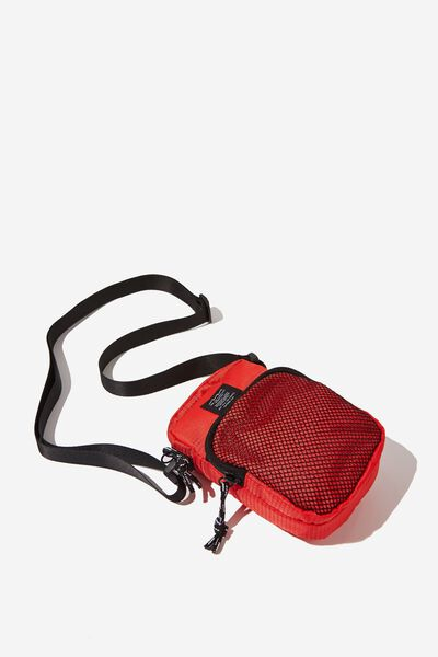 Crossbody Pouch, RED