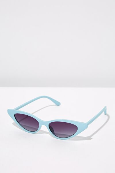 Splendour Cateye Sunglasses, S BABY BLUE_BRU
