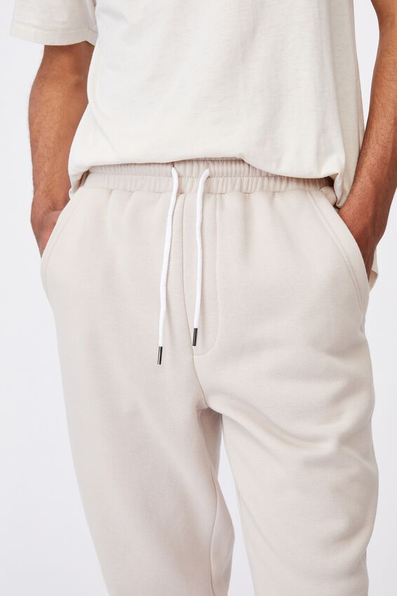 Basic Track Pant, BEIGE