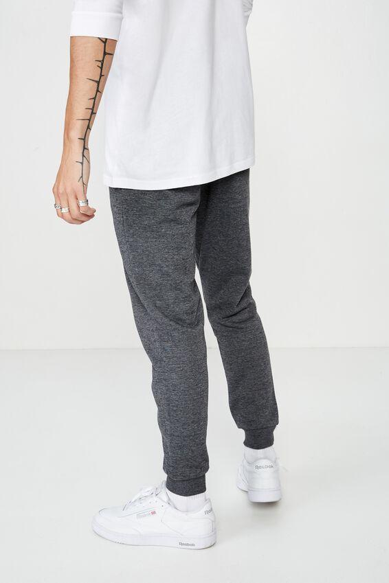 Basic Track Pant, CHARCOAL MARLE