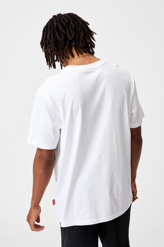 Regular Pop Culture T Shirt, LCN COK WHITE/COKE
