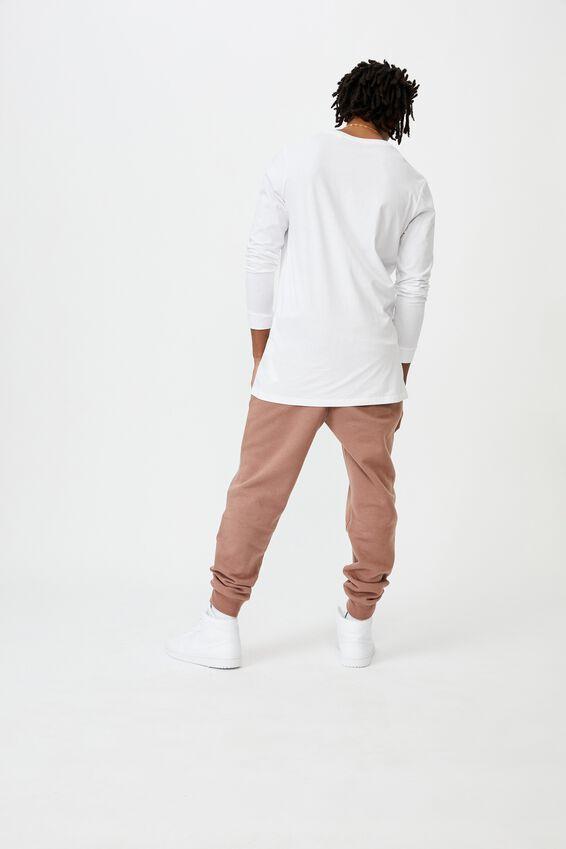 Basic Track Pant, ASH WINE