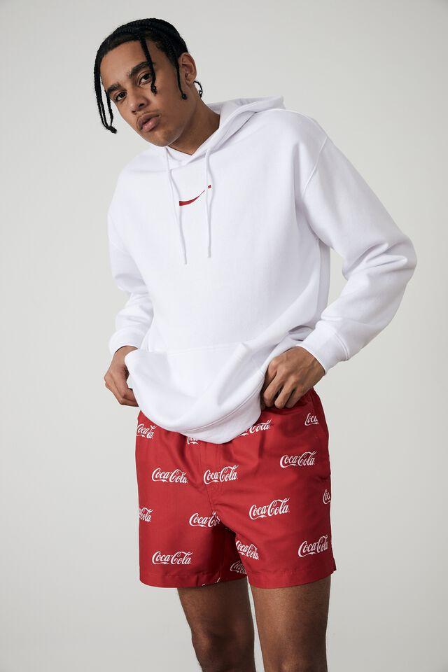 Coke Resort Short, LCN COK RED/COKE