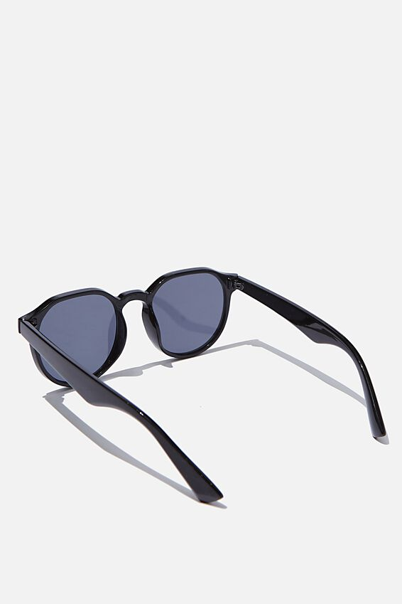 Millenium Preppy Sunglasses, BLACK