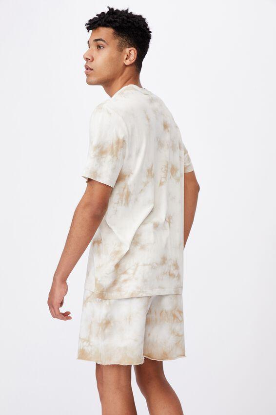 Regular Tie Dye T Shirt, SAND TIE DYE