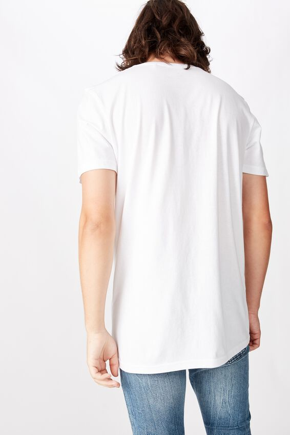 Slim Graphic T Shirt, WHITE/LOVE BITES