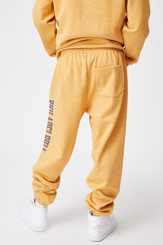 Relaxed Graphic Trackpant, GOLDEN SAND MARLE/PHILADELPHIA