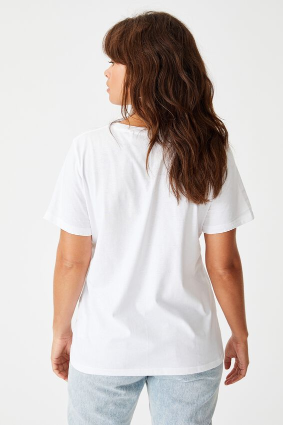 Relaxed Graphic T Shirt, WHITE/STREET SPIRIT
