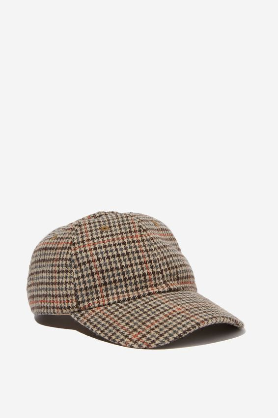 Dad Cap, TAN CHECK