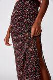 Mesh Maxi Skirt, RORY DITSY_BLACK
