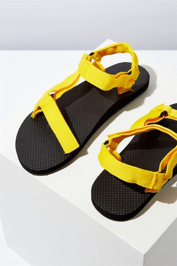 B-Utility Sandal, BLACK_DANDELION