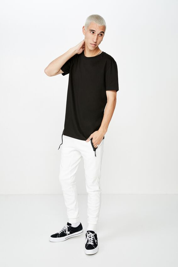 Tech Track Pant, OFF WHITE