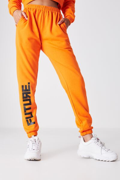 Core Printed Trackpant, PUFFINS BILL_FUTURE
