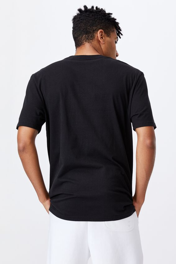 Regular Music Merch T Shirt, LCN MT BLACK/BIGGIE SMALLS