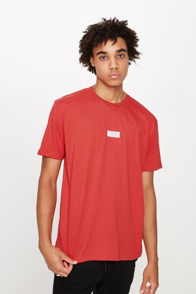 Graphic T Shirt, TOMATO PUREE/IN THE MIDDLE