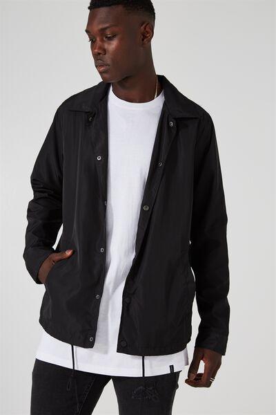The Wilkens Jacket, BLACK
