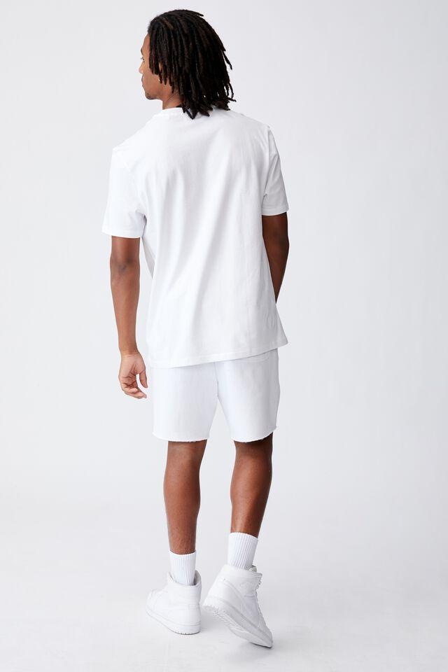 Regular Tv Movie T Shirt, LCN MGM WHITE/ROBO COP SAYS NO