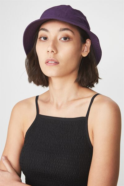 Bucket Hat, PURPLE
