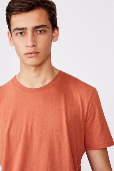 Slim T Shirt, TOBACCO