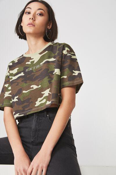 Short Sleeve Boxy Tshirt, EXTRA_CAMO