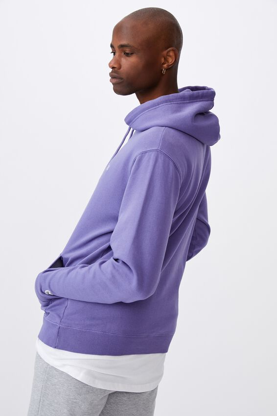 Oversized Icon Hoodie, WASHED GRAPE